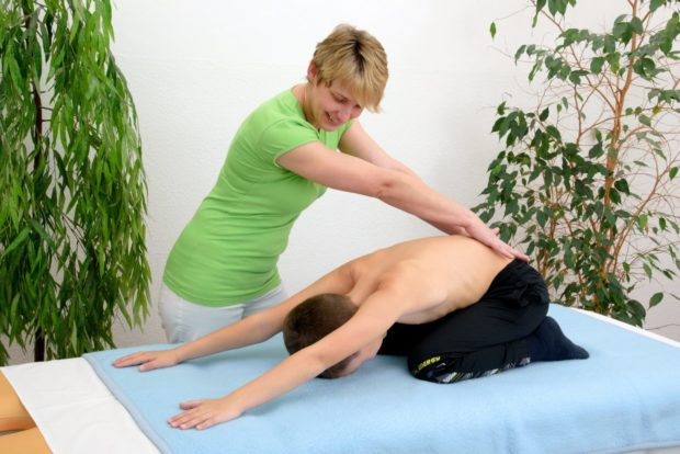 Rehabilitační program pro GER a vadné držení těla