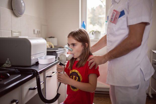 Provoz pneumologické ambulance