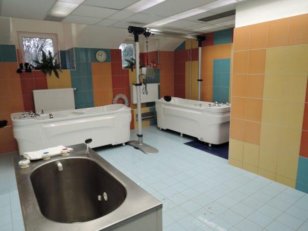 Rekonstrukce sauny a vodoléčby