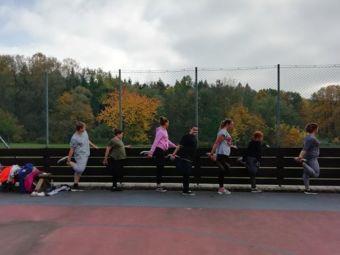 A cvičíme a protahujeme svaly 18.03.