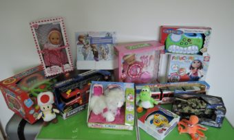 Poděkování společnosti Alltoys za dárky pro děti