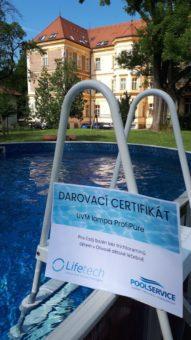 Léto v čistém bazénu díky firmě Lifetech